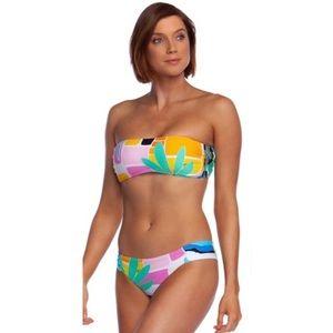NWT Trina Turk 2 Pc Mosaic Sunrise Bikini Swimsuit